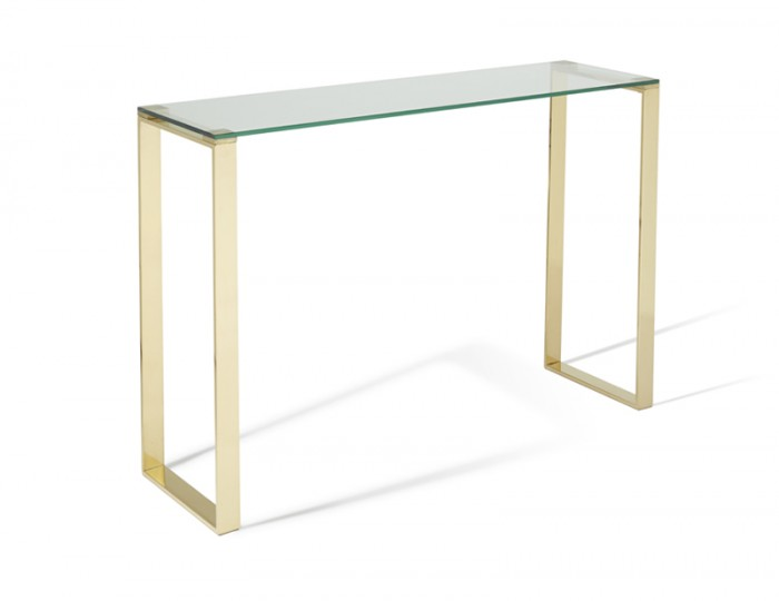 Kayla Gold Console Table