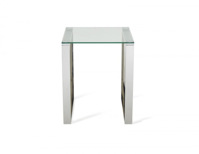 Kayla Silver Lamp Table