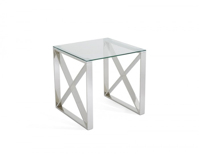 Hornchurch Silver Lamp Table