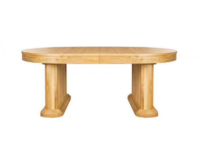 Sierra Oval Oak Extending Dining Table
