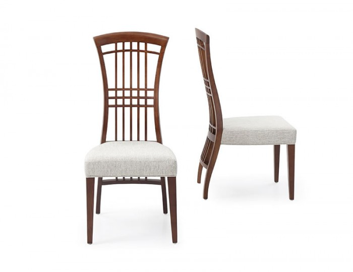 Montrose Dark Wooden Dining Chair