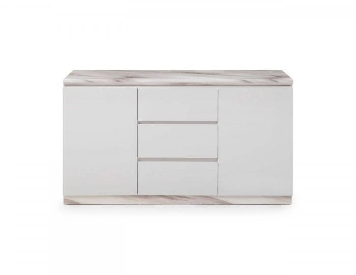 Montrose Marble 2 Door 3 Drawer Sideboard