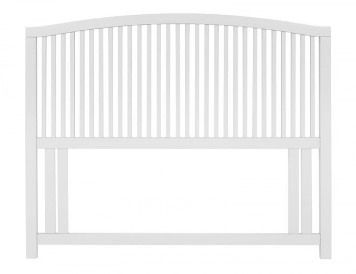 Austin White Slatted Headboard