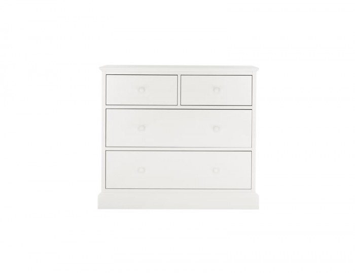Austin White 4 Drawer Chest
