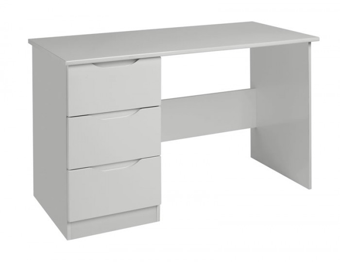 Warren Light Grey Single High Gloss Dressing Table