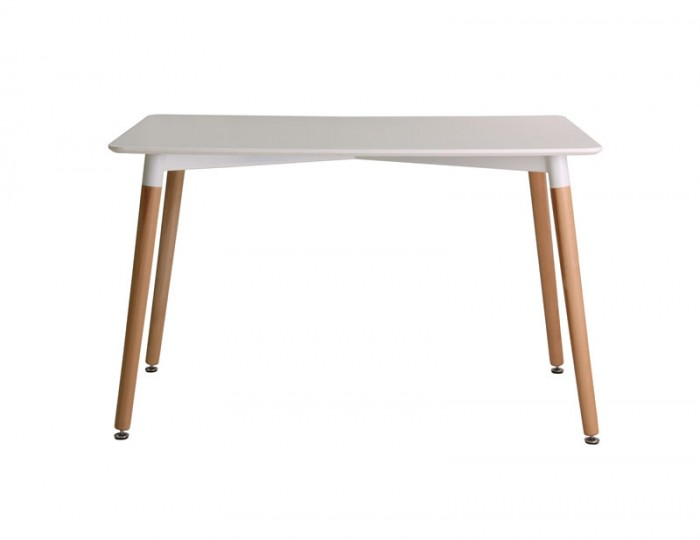 Leral White Dining Table
