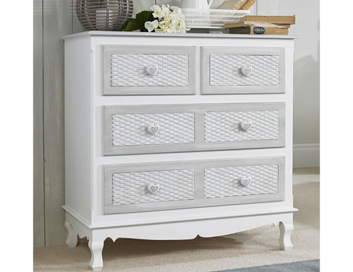 Bratinay 2+2 Drawer Chest