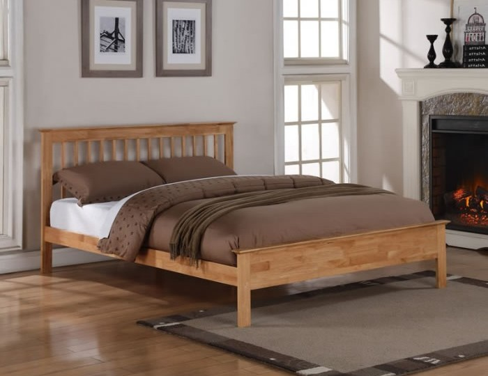 Peyton Oak Bed Frame