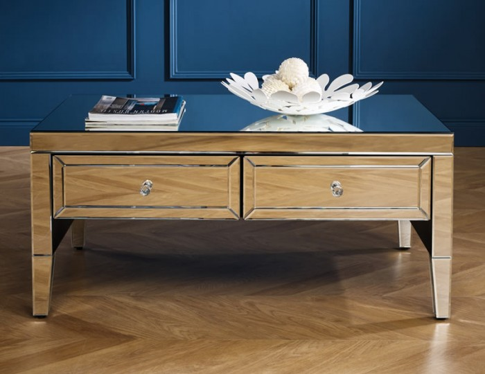 Valencia Mirrored Coffee Table