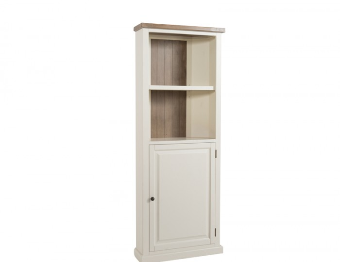 Santorini Solid Pine Hand Painted Corner Display Unit