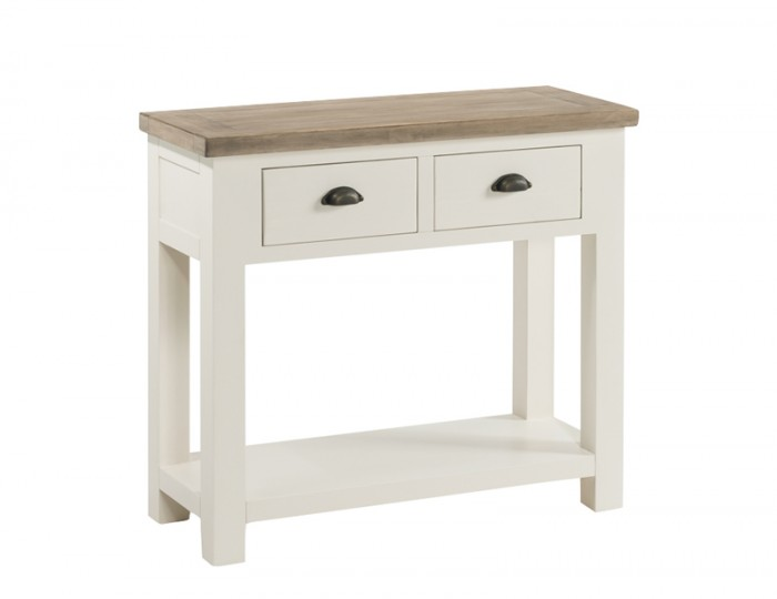 new arrival fda79 ec974 Santorini Solid Pine Hand Painted Large Console Table