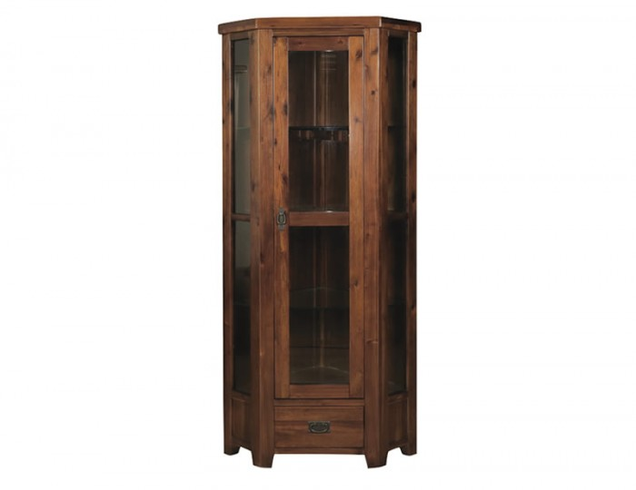 Rowland Acacia Corner Display Unit