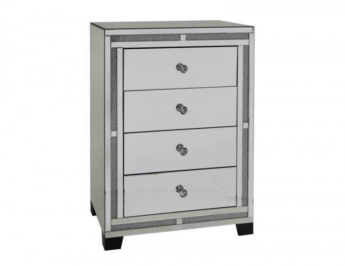 Marigold Mirrored 4 Drawer Chest