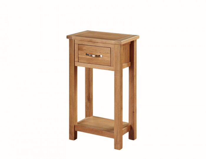 Hartford City Oak Solid Wood Medium Console Table