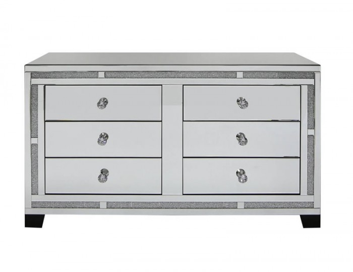 Marigold Mirrored 6 Drawer Chest