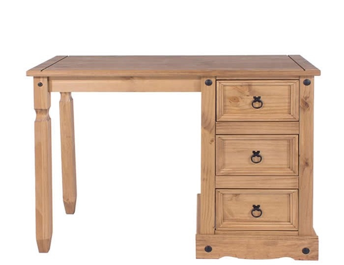 Estrella Single Pine Dressing Table