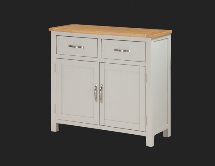 Hartford Painted Solid Oak 2 Door Sideboard