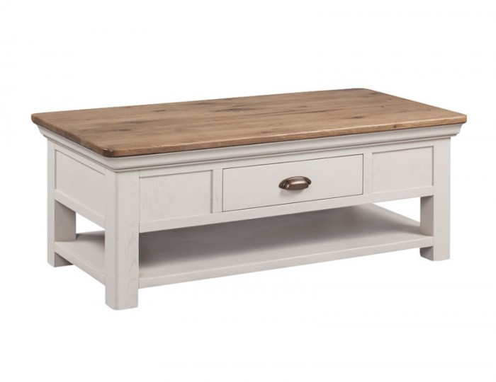 Lola Painted Oak Coffee Table