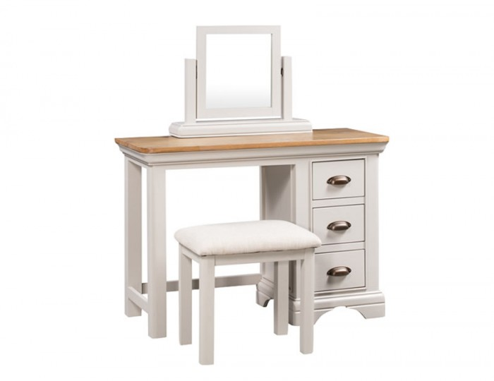 Lola Single Painted Oak Dressing Table