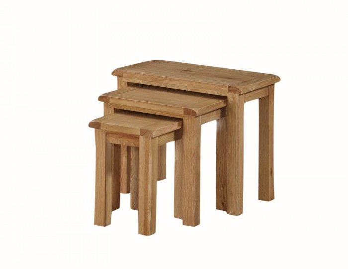 Kako Oak Nest Of Tables