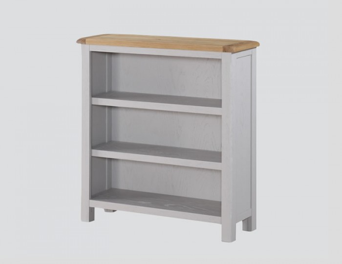 Kako Low Painted Oak Bookcase