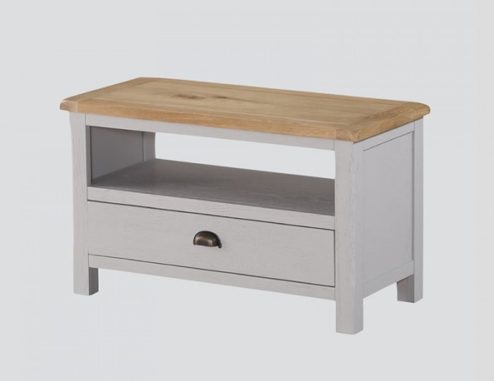 Kako Painted Oak Small TV Stand