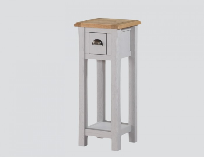 Kako Small Painted Oak Console Table