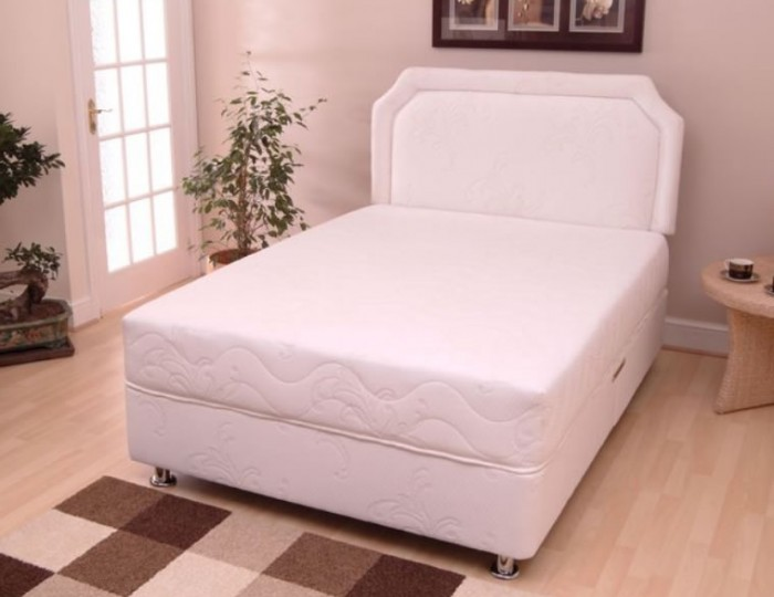 Visco flex divan bed set for Divan and mattress set