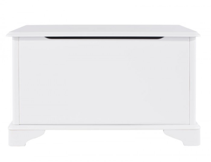 Wellington White Painted Wooden Blanket Box