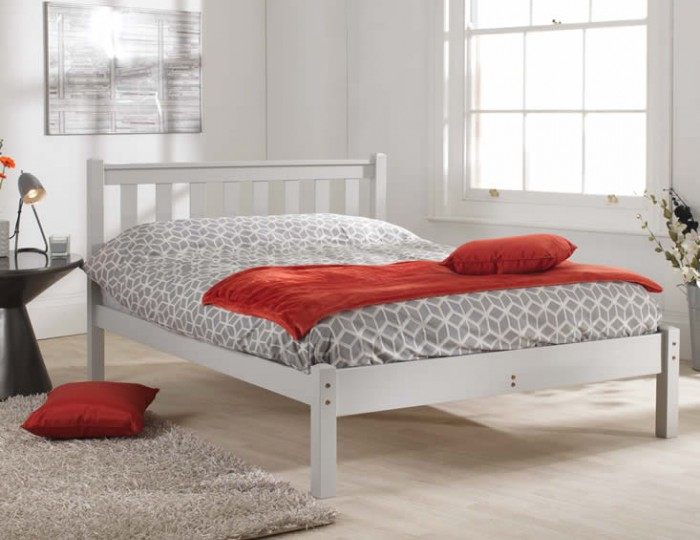 Shaker Grey Bed Frame