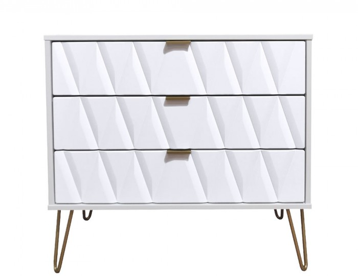 Marilyn Diamond 3 Drawer Chest