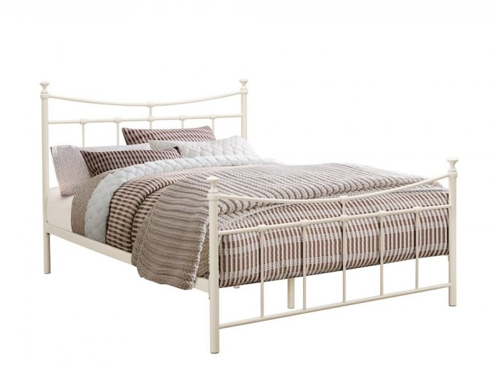 Emerson Cream Metal Bed Frame