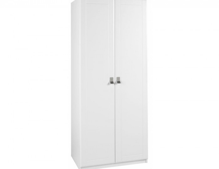 Sigrid White 2 Door Tall Wardrobe *Special Offer*
