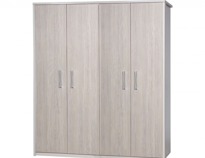 Hulsen Champagne 4 Door Wardrobe *Special Offer*