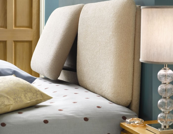 Relax Contemporary Headboard - Fabric Options