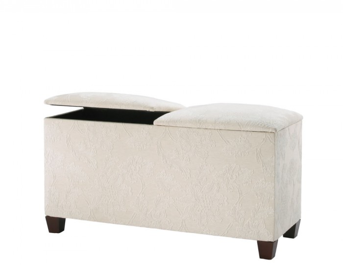 Normandy Twin-Lid Ottoman