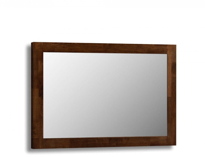 Minuet wenge wall mirror for Miroir wenge