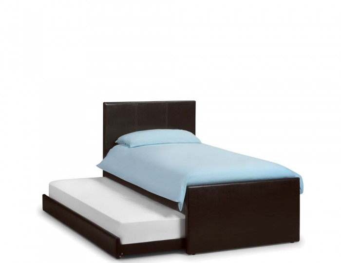 Cosmo Faux Leather Guest Bed