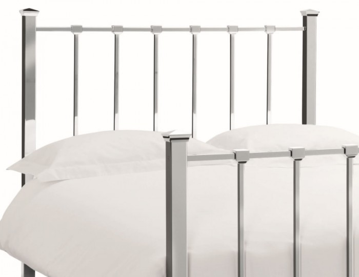 Madison Shiny Nickel Bedstead