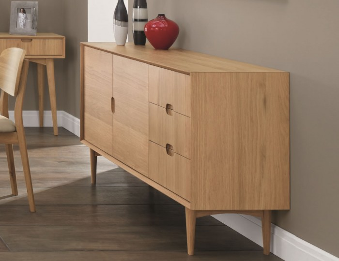 Orbit Oak Sideboard