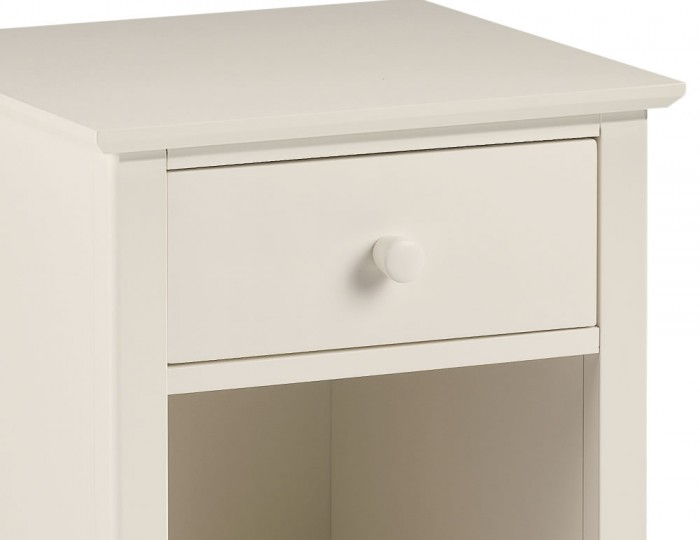 Cameo Off-White Bedside Table