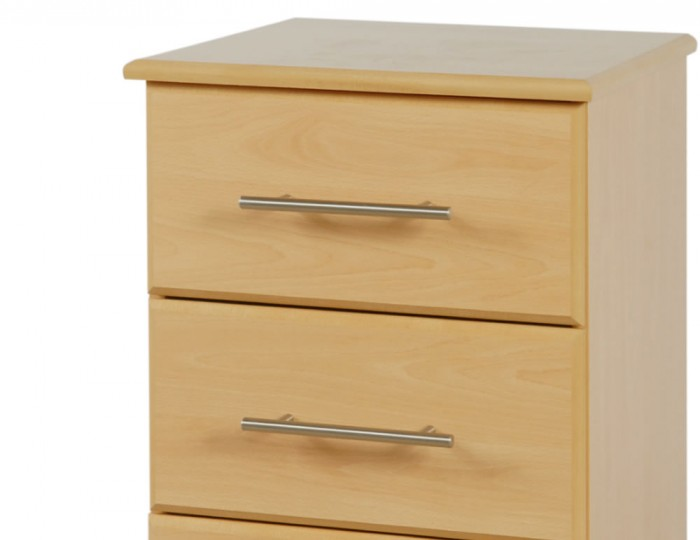 Boston 3 Drawer Contract Bedside Chest