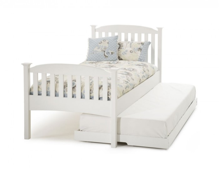 Eleanor Hevea White Guest Bed