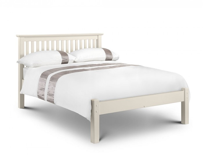 Cameo Off White Low Footend Bed Frame Single Double