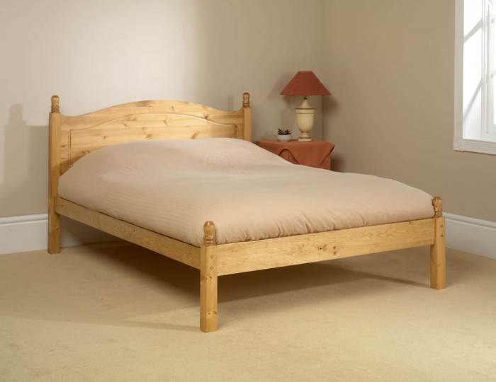 Orlando Low Footend Pine Bed Frame