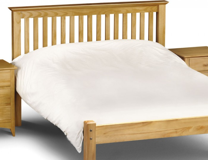 Barcelona Pine Low Footend Bed