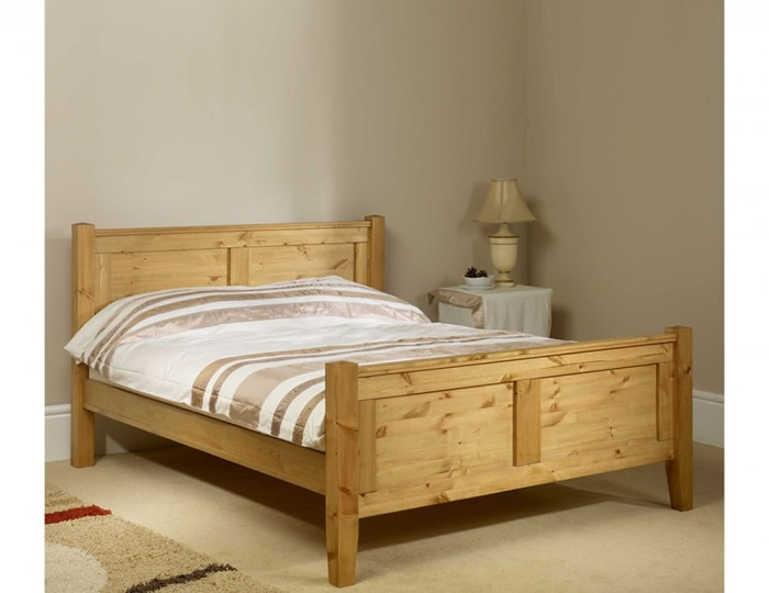 Coniston Pine High Footend Bed