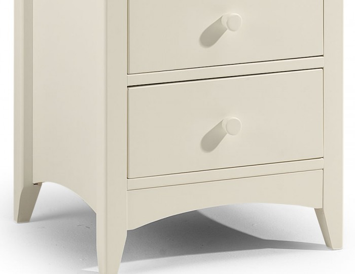 Cameo 7 Drawer Off-White Chest