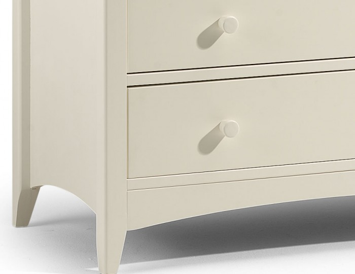 Cameo 4+2 Drawer Off-White Chest