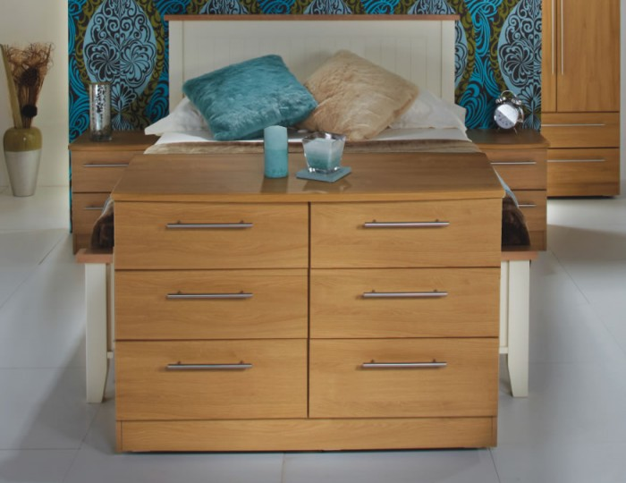 New Sherwood 6 Drawer Midi Chest